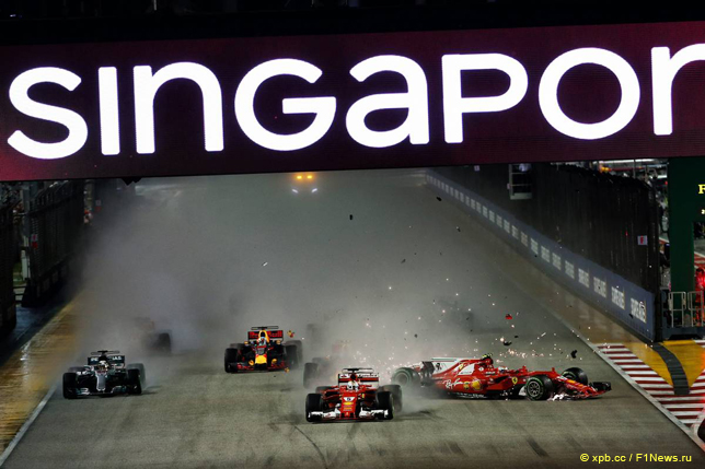 Гран При Сингапура. Кими Райкконен