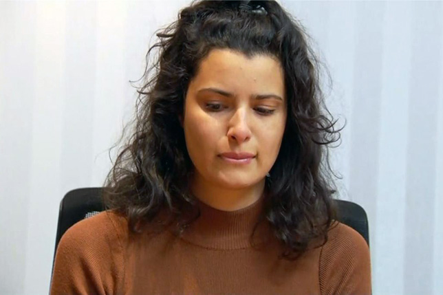 Кассандра Талула Диас-Грейзис. Кадр видео Journal de Montreal