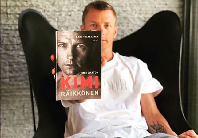 Авторизованная биография Кими Райкконена мгновенно стала бестселлером