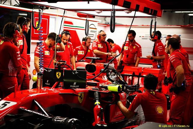Гран При Сингапура. Машина Себастьяна Феттеля