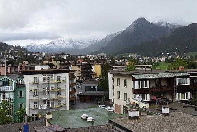 Вид города Баар, Швейцария