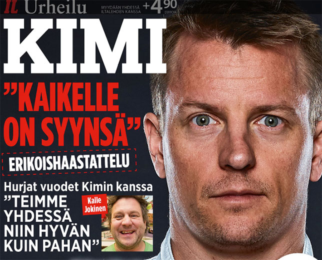 Обложка журнала Iltalehti Urheilu