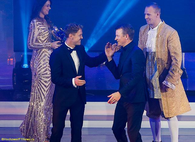 Весёлый Кими Райкконен на гала-церемонии FIA в Санкт-Петербурге, посвящённой окончанию сезона 2018 года