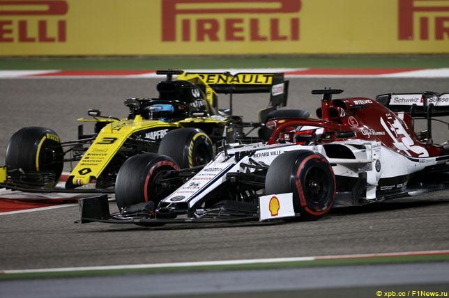 阿尔法·罗密欧高兴与巴林大奖赛的结果