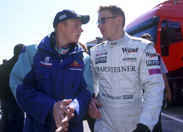 Кими Райкконен и Мика Хаккинен, 2001 год