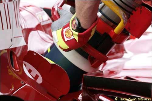 Пит-стоп Ferrari