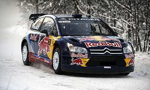 Кими Райкконен за рулем Citroen C4 WRC