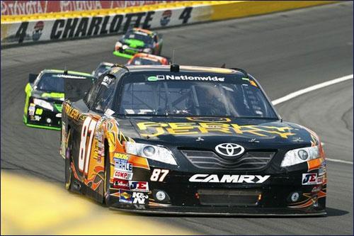 Кими Райкконен на трассе NASCAR