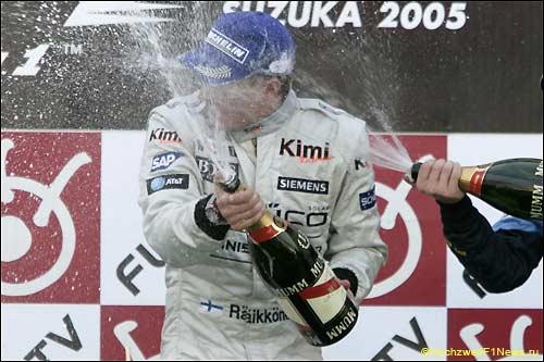 Кими Райкконен - победитель Гран При Японии 2005 года