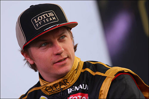 Кими Райкконен - гонщик Lotus F1