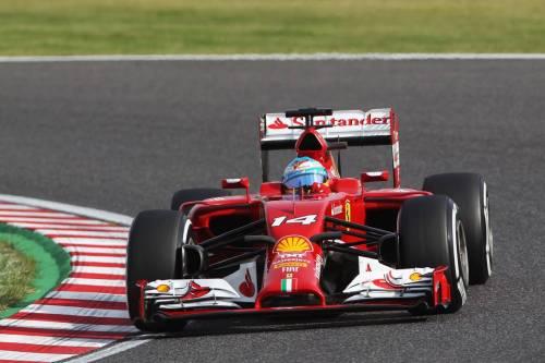Гран При Японии. Фернандо Алонсо.