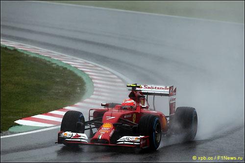 Кими Райкконен на трассе Гран При Японии