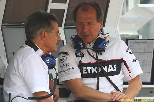 Марио Тайссен и Вилли Рампф в Барселоне