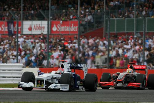 Гран При Великобритании. Роберт Кубица