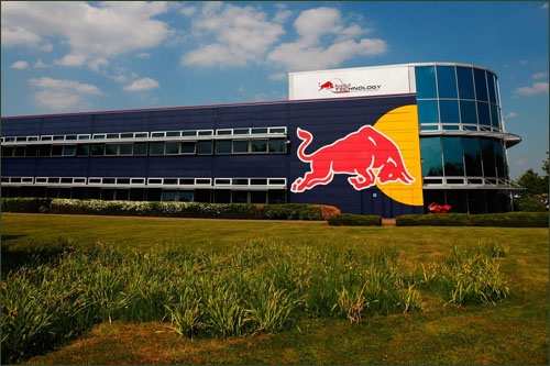 База Red Bull Advanced Technologies