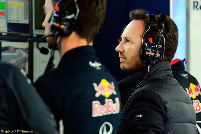 Руководитель Red Bull Racing Кристиан Хорнер