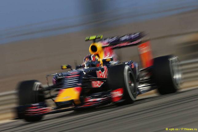 Даниил Квят за рулем Red Bull Racing