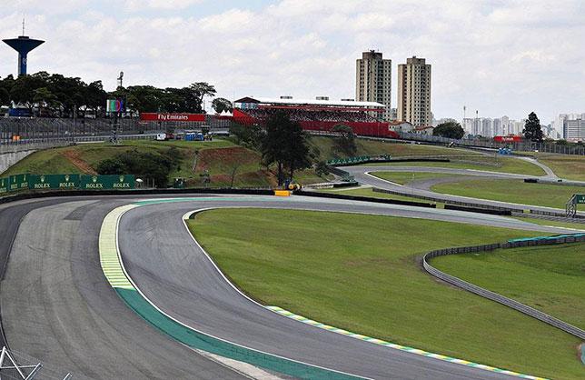 Трасса Гран При Бразилии в Сан-Паулу