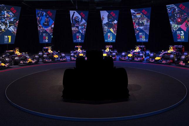 Новая машина Red Bull Racing на базе команды