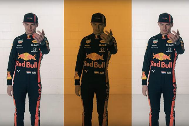 Кадр из нового видеоролика Red Bull Racing