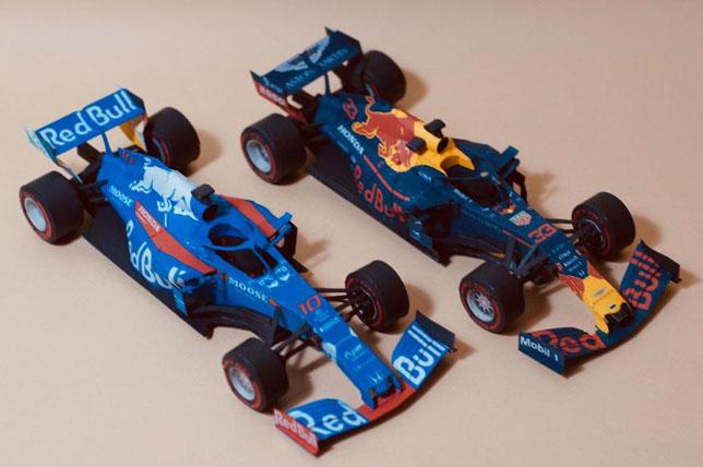 Модели Toro Rosso STR14 и Red Bull RB15