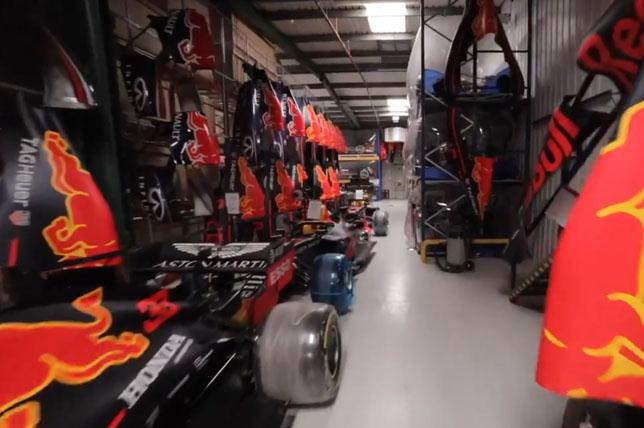 Машины на базе Red Bull Racing