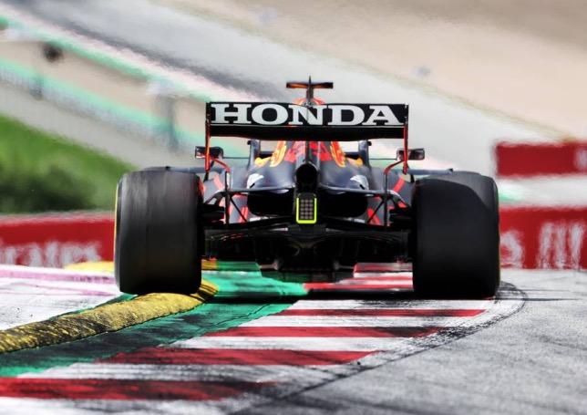 Машина Макса Ферстаппена на Red Bull Ring, фото XPB