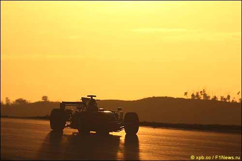 Промежуточная версия Red Bull на январских тестах в Портимао