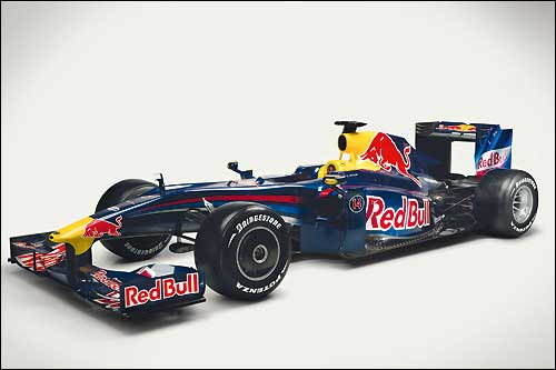 Студийная фотография Red Bull RB5