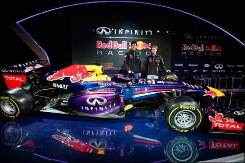 Презентация Red Bull Racing RB9