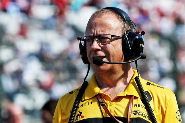 Марк Слейд, гоночный инженер Нико Хюлкенберга, фото пресс-службы Renault