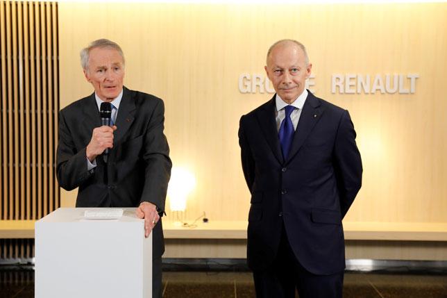 Жан-Доминик Сенар и Тьерри Болоре