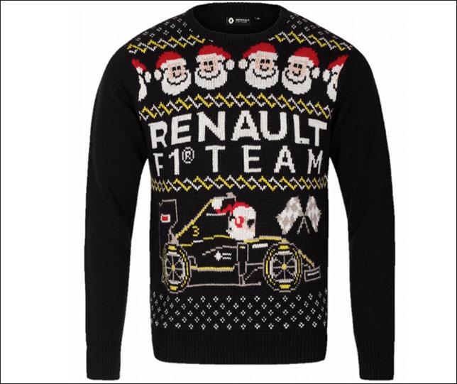 Рождественский свитер из коллекции Renault