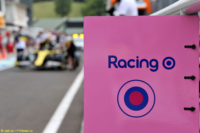 Логотип Racing Point