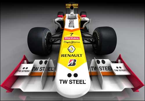 Новая раскраска машины Renault