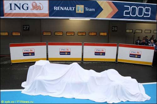 Перед презентацией Renault в 2009-м