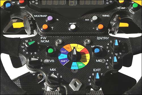 Руль Renault F1