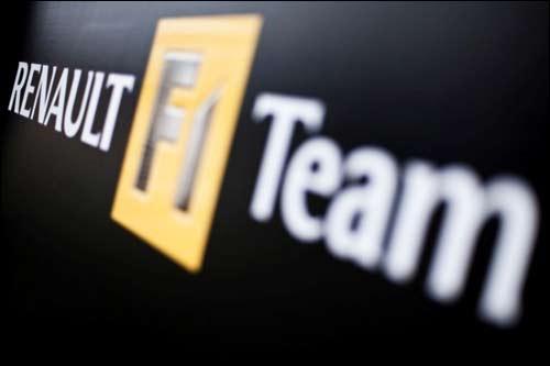 Логотип Renault F1
