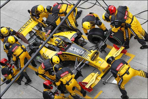 Пит-стоп Renault