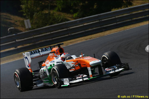 Пол ди Реста на Гран При Венгрии