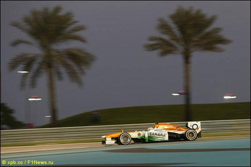Пол ди Реста на Гран При Абу-Даби