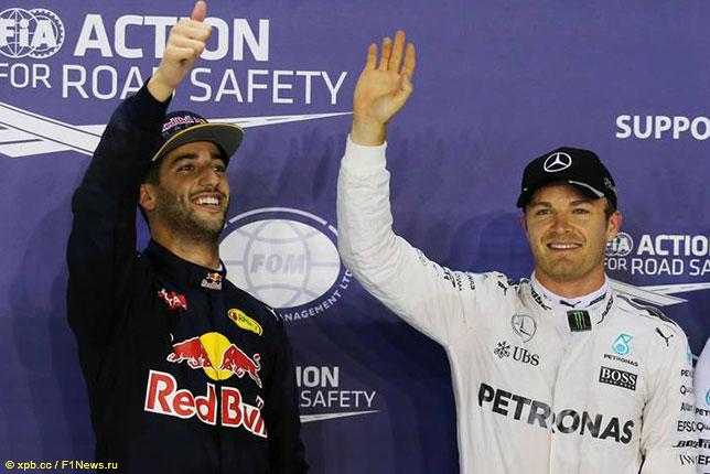 Formula-1: Нико Росберг одержал победу заключительную тренировку наМарина-Бей