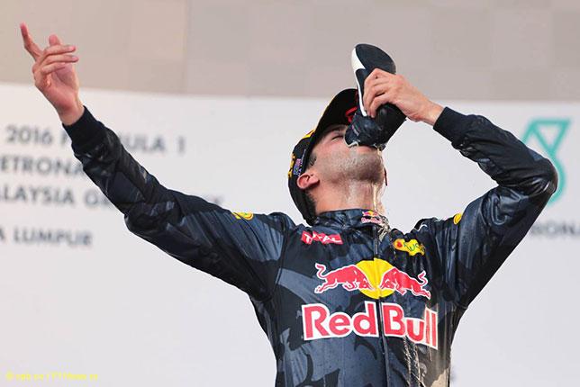 Даниль Риккардо - победитель Гран При Малайзии
