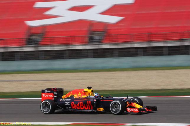 Даниэль Риккардо на Гран При Китая, 2016 год