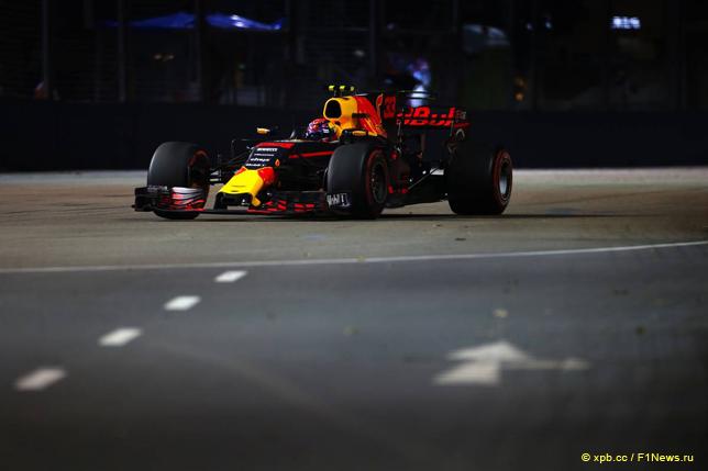 Гран При Сингапура. Макс Ферстаппен