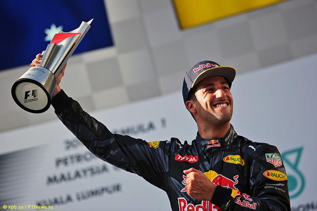 Даниэль Риккардо - победитель прошлогоднего Гран При Малайзии