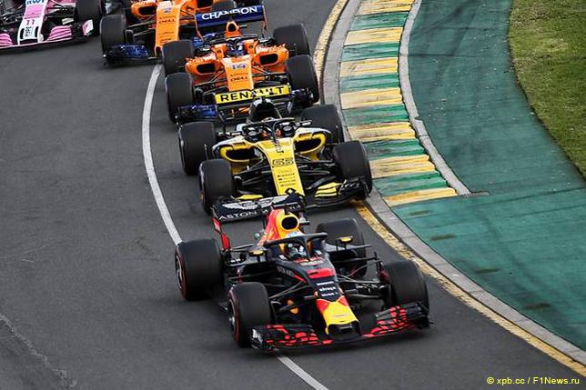 Гран При Австралии. Даниэль Риккардо
