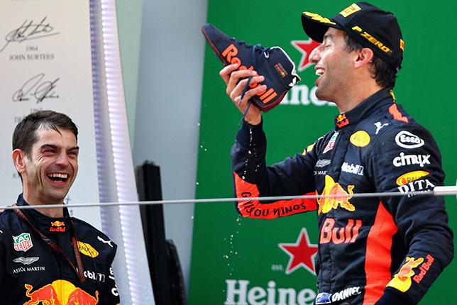 Даниэль Риккардо - победитель Гран При Китая, фото пресс-службы Red Bull Racing