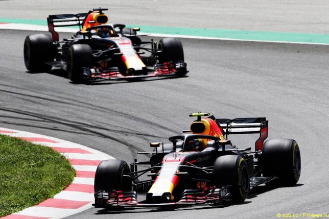 Гран При Испании. Гонщики Red Bull Racing