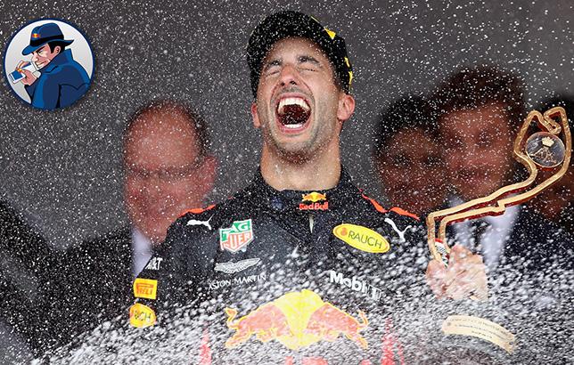 Даниэль Риккардо - победитель Гран При Монако, фото пресс-службы Red Bull Racing